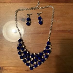 Statement Necklace & Earring